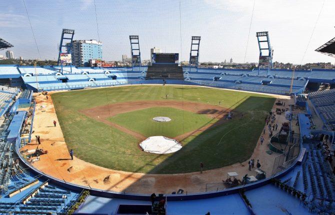 El estadio de béisbol de La Habana tendrá una pizarra electrónica donada por Samsung