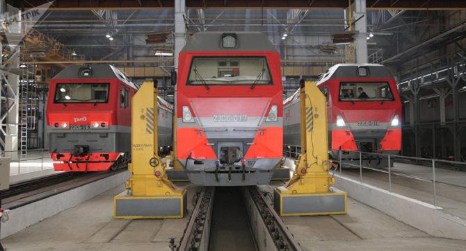 La rusa Sinara despacha un lote de siete locomotoras a Cuba