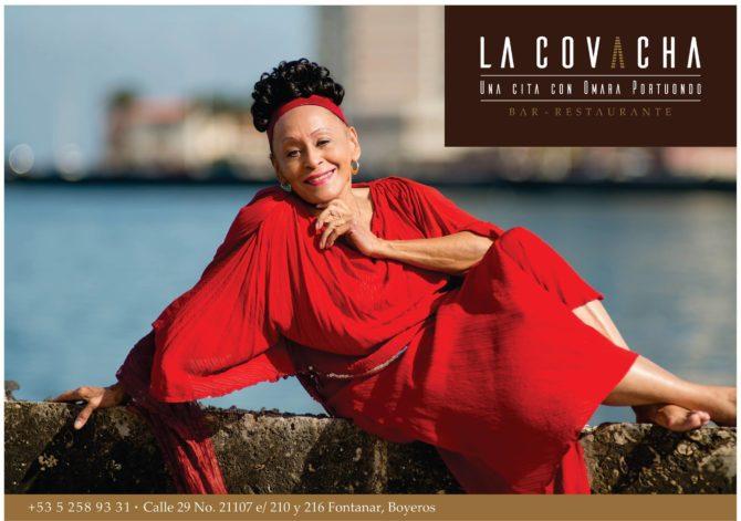 Omara Portuondo abre su propio restaurante en La Habana