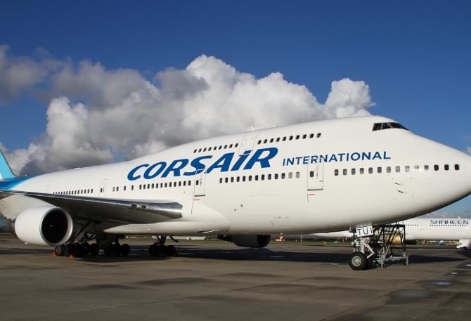 Corsair abre ruta entre París y Varadero