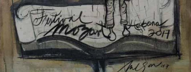 Artistas cubanos rinden homenaje al músico W.A. Mozart