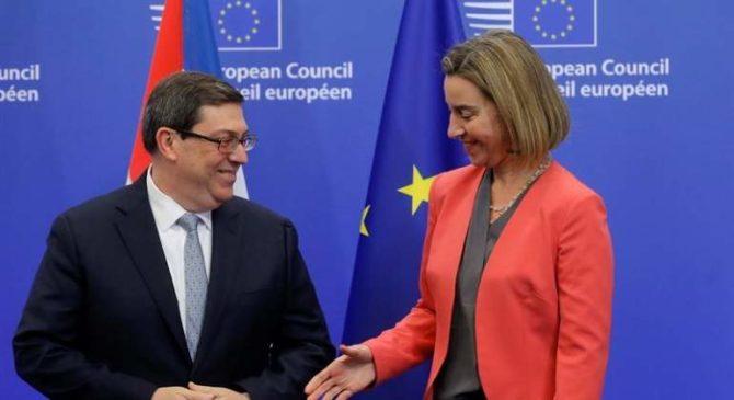 El acuerdo entre La Habana y la Unión Europea entrará en vigor el 1 de noviembre