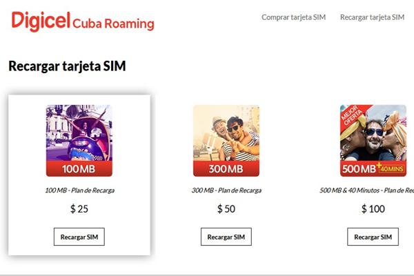 Digicel hace en Cuba lo que ETECSA no puede