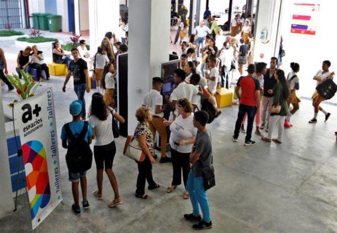 Inauguran Centro para Adolescentes en La Habana Vieja con apoyo de la UE y Unicef
