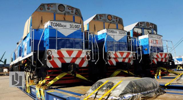 Llegan a Cuba las siete primeras locomotoras rusas de un plan de 75