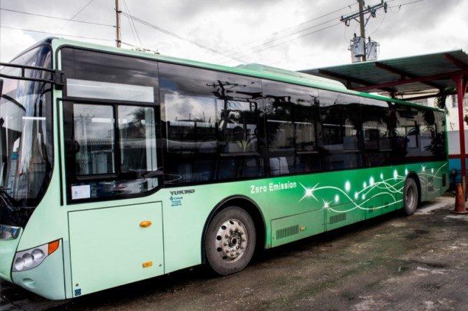 Autobuses eléctricos van a correr por las calles de La Habana
