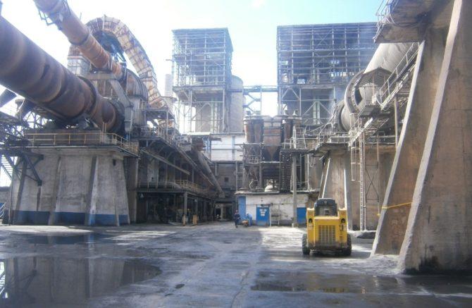 La fábrica de cemento más importante de Cuba en reparación
