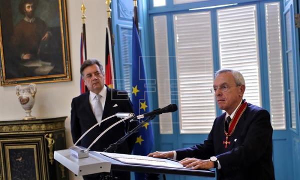 El historiador de La Habana recibe la Gran Cruz Federal al Mérito de Alemania