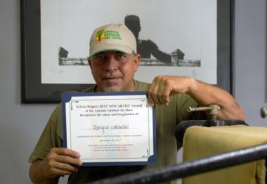 Rayando el plástico con Enrique G. Miralles Tartabull, 'Tente'