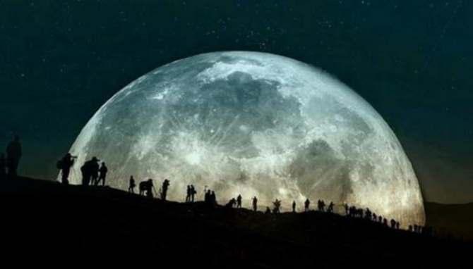 Este domingo podrá verse la superluna 2017