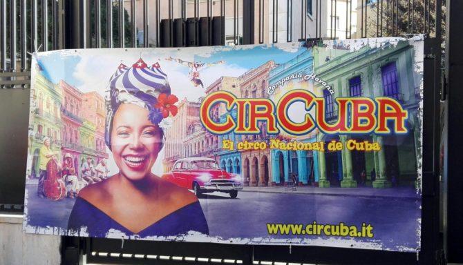 El circo cubano se va de gira por Italia