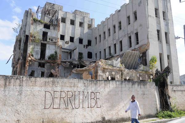 El antiguo hospital infantil Pedro Borrás de La Habana podría 'convertirse' en hotel