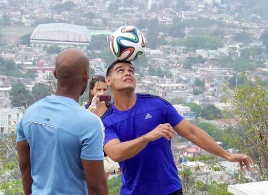 El cubano Luis Carlos García logró su registro en el libro de récords Guinness