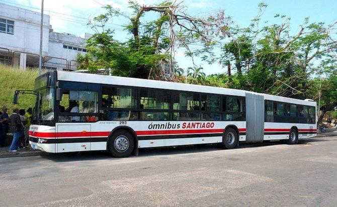 Santiago de Cuba ha recibido una nueva flota de autobuses