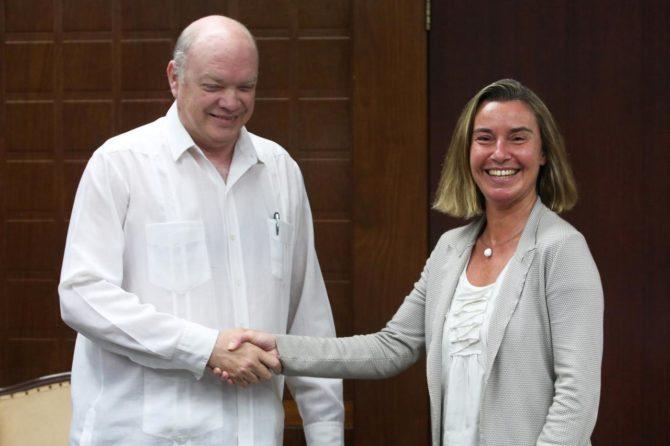UE interesada en mayores operaciones económicas con Cuba