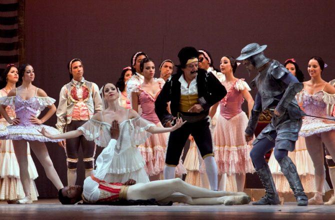 Don Quijote en el Gran Teatro de La Habana