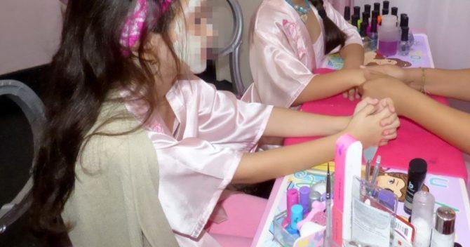 Las princesas de Cuba: spa para niñas en La Habana