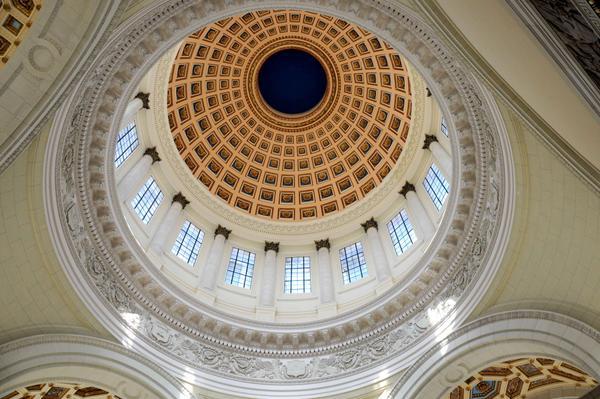Rusia paga por la renovación de la cúpula del Capitolio