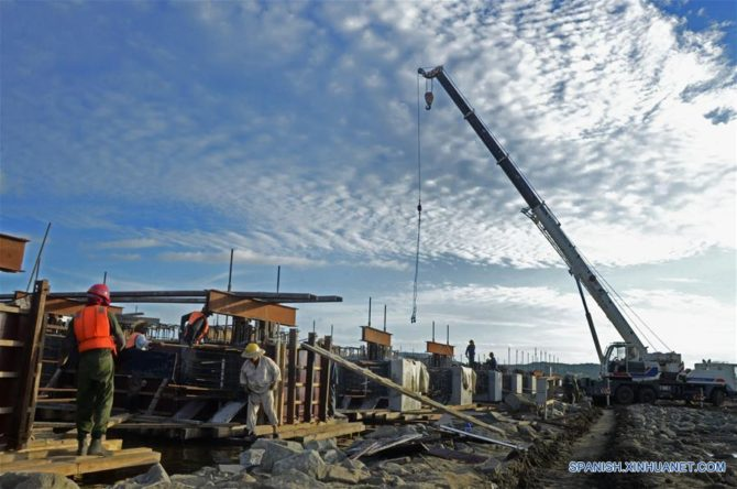 Avanza con rapidez modernización de puerto de Santiago de Cuba tras inversión de US$120M