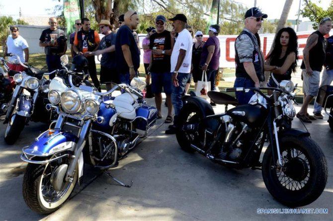 Motocicletas Harley Davidson desafían el tiempo en Cuba