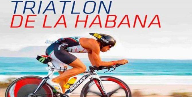 Unos 450 triatletas de más de 35 países animarán Triatlón de La Habana