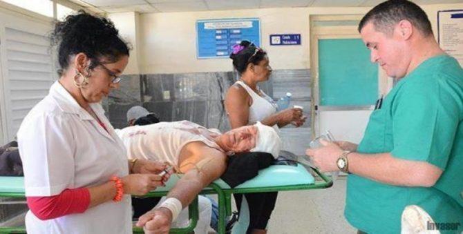 Accidente de ómnibus en provincia cubana ocasiona 35 lesionados