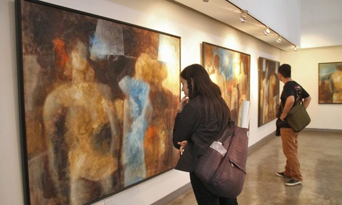 Pintor Nelson Domínguez abre primera galería rural en Cuba