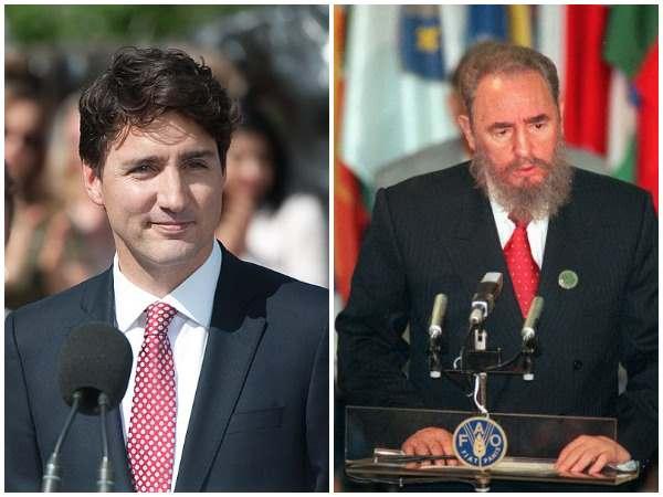 Desmienten que Justin Trudeau sea hijo de Fidel Castro
