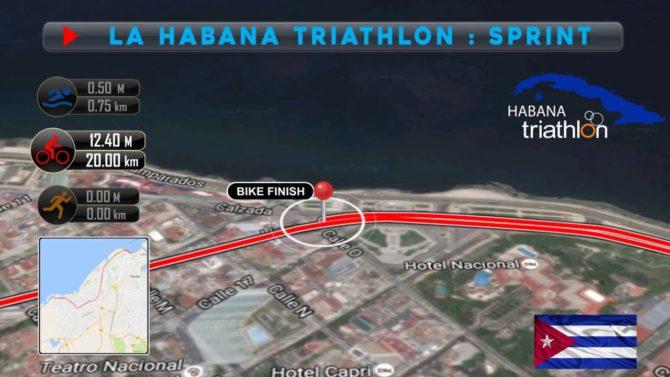 Triatlón de La Habana estrenará nueva meta en el Hotel Nacional
