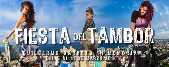 Comienza hoy en La Habana la XVII Fiesta del Tambor