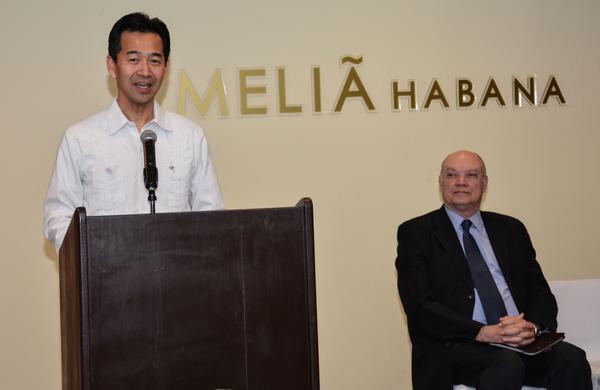 Apertura de la oficina de la Agencia de Cooperación Internacional del Japón en La Habana