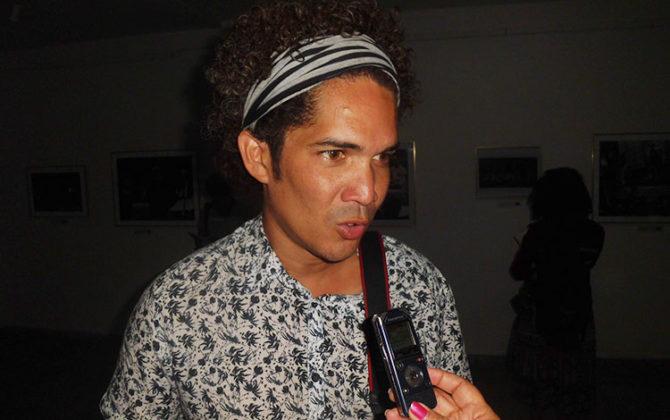 Yander Zamora, uno de los fotógrafos cubanos más reconocidos internacionalmente en la actualidad. (Foto: Francisnet Díaz Rondón)