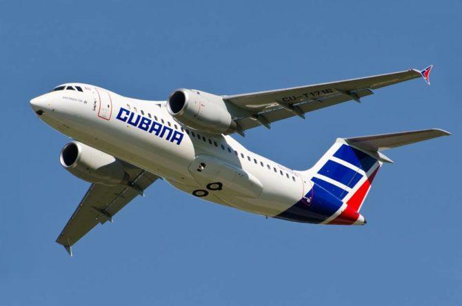 Cubana informa sobre ajustes en sus vuelos nacionales