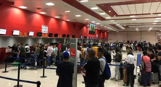 El aeropuerto José Martí de La Habana, entre los más congestionados de América Latina