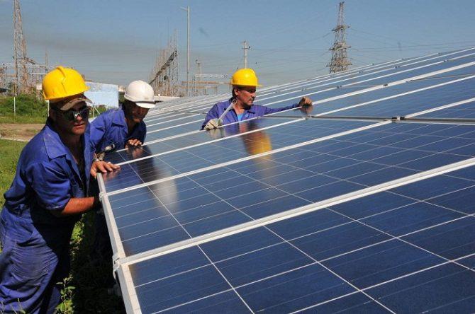 Cuba inaugura dos nuevos parques fotovoltaicos