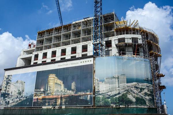 """Hotel Paseo del Prado: lujoso """"barco"""" que anclará en La Habana"""