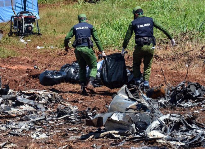 Encuentran la segunda caja negra del avión accidentado en La Habana