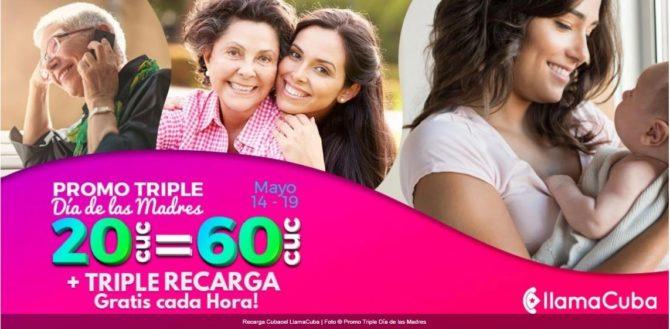 Recibe el Triple Plus con la nueva promoción de recargas por el Día de las Madres