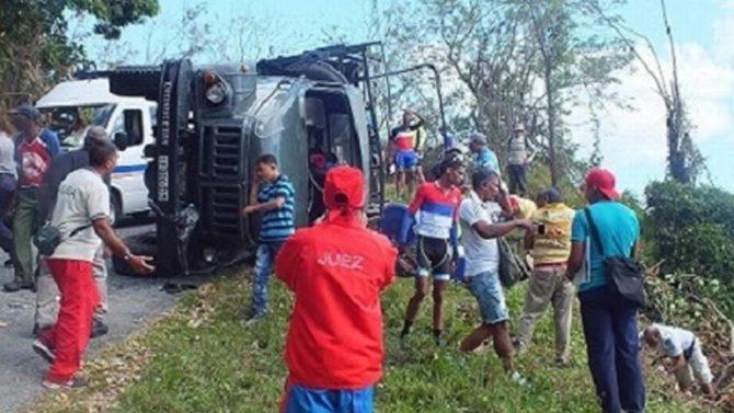 Cuba registró un accidente de tráfico cada 47 minutos en 2017