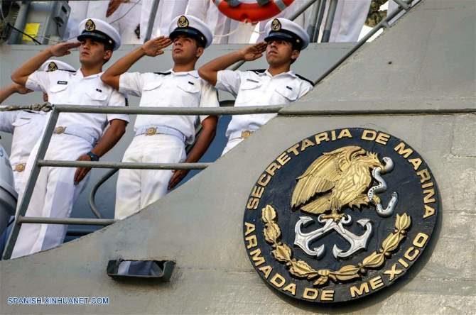 Arriba buque-escuela Huasteco a la Habana
