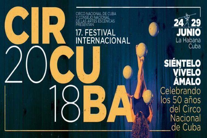 Comienza Circuba 2018, el mayor festival circense de América