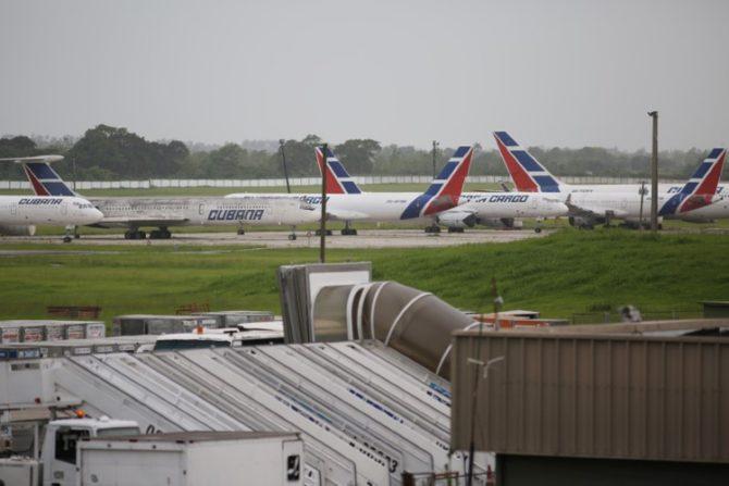 Solo cuatro de los 16 aviones de Cubana siguen volando