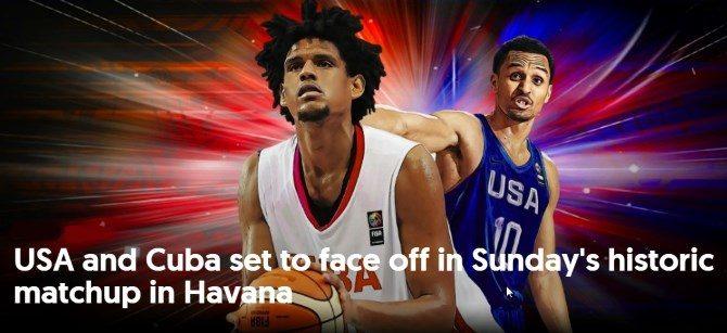 Estados Unidos derrota a Cuba en la Ciudad Deportiva de La Habana