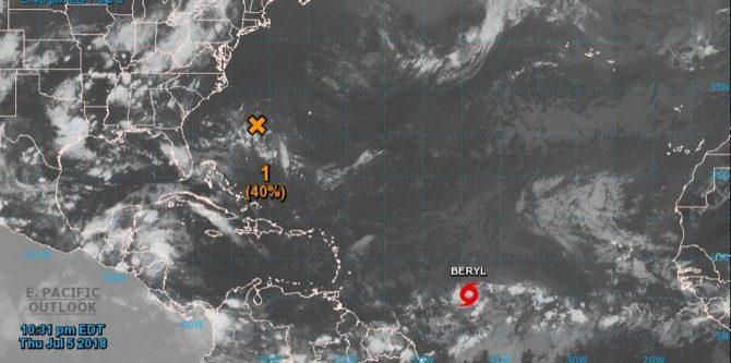 Cuba emite un aviso de ciclón tropical por la tormenta Beryl