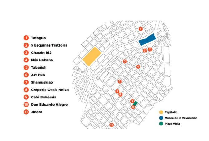 La tapa se cuela en los circuitos de restaurantes de moda de La Habana
