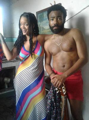"Rihanna filma ""Guava Island"" en La Habana"