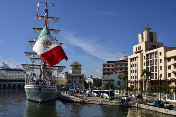 Buque escuela de México visitó La Habana