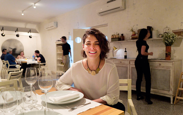 Amy Torralbas owns Otramanera, an ultramodern restaurant in Havana. She said Cubans are often shocked to find out they need a reservation. Credit Eliana Aponte Tobar for The New York Times