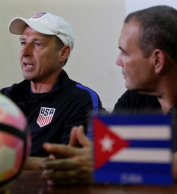 U S  beat Cuba 2-0 on in Havana