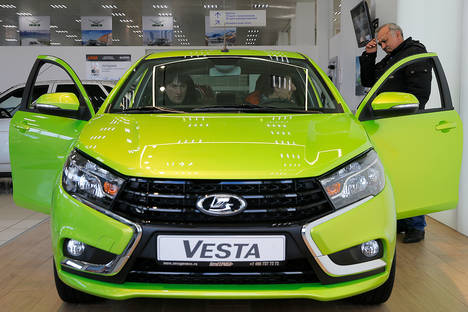 Russia's largest carmaker plans to deliver 300 Lada cars to Cuba